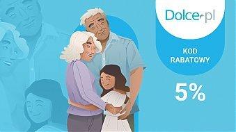 Kod Rabatowy 5% z okazji Dnia Babci i Dziadka!