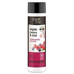 Organic Shop Berry Delight Organic Raspberry & Acai Bath Foam 1/1
