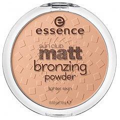 Essence Sun Club Matt Bronzing Powder 1/1