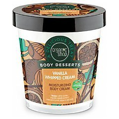 Organic Shop A Delicious Treat Body Desserts Vanilla Whipped Moisturizing Body Cream 1/1