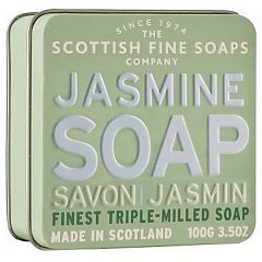 The Scottish Fine Soaps Jasmine Soap In A Tin 1/1