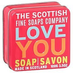 The Scottish Fine Soaps Love You Soap In A Tin 1/1