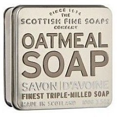 The Scottish Fine Soaps Oatmeal Soap In A Tin 1/1