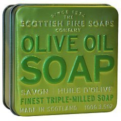 The Scottish Fine Soaps Olive Soap In A Tin 1/1