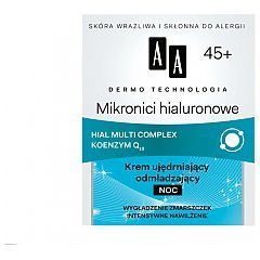 AA Dermo Technology Hyaluronic Microns Night Cream 45+ 1/1