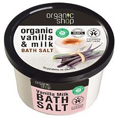 Organic Shop Vanilla & Milk Bath Salt 1/1