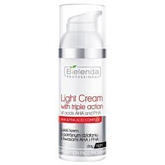 Bielenda Professional Light Cream With Triple Action Of Acids AHA And PHA 1/1