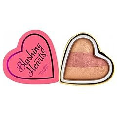 Makeup Revolution Blushing Hearts Triple Baked Blusher 1/1