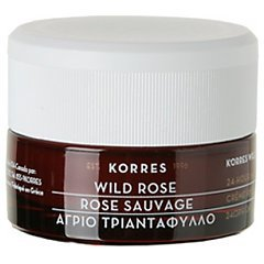 Korres Wild Rose 24H Moisturising & Brightening Cream Normal/Dry Skin 1/1