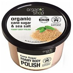 Organic Shop Cane Sugar Foam Body Polish 1/1