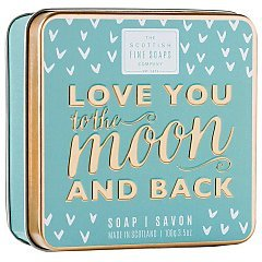 The Scottish Fine Soaps Love You To The Moon And Back Soap In A Tin 1/1