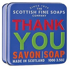 The Scottish Fine Soaps Thank You Soap In A Tin 1/1