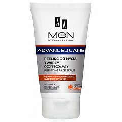 AA Men Advanced Care Purifying Face Scrub 1/1