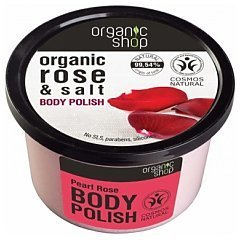 Organic Shop Pearl Rose Body Polish 1/1