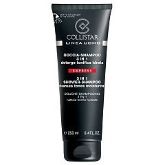Collistar Linea Uomo 3in1 Shower-Shampoo Cleanses Tones Moisturizes 1/1