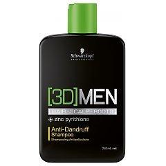 Schwarzkopf Professional 3D Men Anti Dandruff Shampoo 1/1