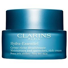 Clarins Hydra-Essentiel Moisturizes and Quenches Rich Cream 1/1
