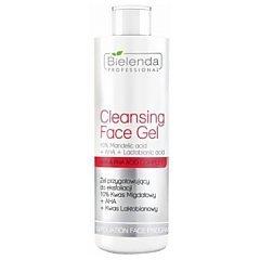 Bielenda Professional Cleansing Face Gel 10% Mandelic Acid + AHA + Lactobionic Acid 1/1