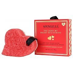 Spongelle You Have My Heart On A String Body Wash Infused Buffer 1/1
