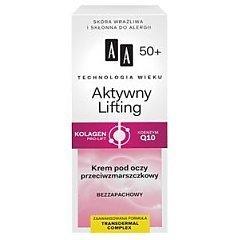 AA Technology Age 50+ Active Lifting Eye Cream 1/1
