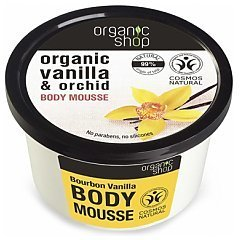 Organic Shop Bourbon Vanilla Body Mousse 1/1