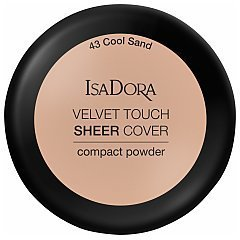 IsaDora Velvet Touch Sheer Cover Compact Powder 1/1