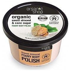 Organic Shop Sweet Almond & Cane Sugar Foam Body Polish 1/1