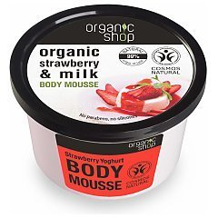 Organic Shop Strawberry & Milk Body Mousse 1/1