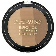 Makeup Revolution Bronze Shimmer Highlight 1/1