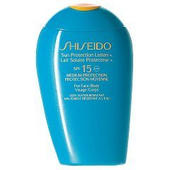 Shiseido The Suncare Sun Protection Lotion N for Face-Body SPF 15 1/1
