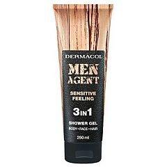 Dermacol Men Agent 3 in 1 Sensitive Feeling Shower Gel 1/1