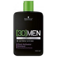 Schwarzkopf Professional 3D Men Root Activator Shampoo 1/1