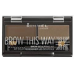 Rimmel Brow This Way Brow Sculpting Kit 1/1