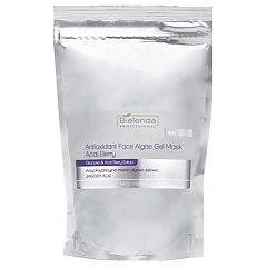 Bielenda Professional Antioxidant Face Algae Gel Mask Acai Berry 1/1