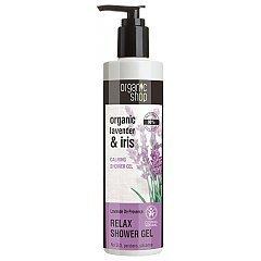 Organic Shop Lavender & Iris Calmin Shower Gel 1/1
