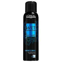 L'oreal Tecni Art Wet Domination Shower Shine Lacquer Shine Spray 1/1