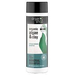 Organic Shop Algae & Clay Blue Lagoon Mineral Shampoo 1/1