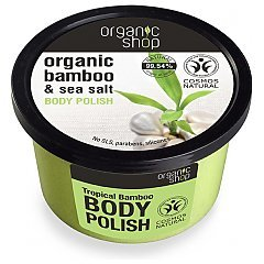 Organic Shop Bamboo & Sea Salt Body Polish 1/1