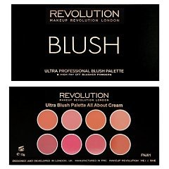 Makeup Revolution Ultra Professional Blush Palette 1/1