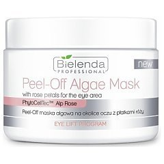 Bielenda Professional Peel-Off Algae Mask With Rose Petals For The Eye Area 1/1