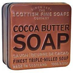 The Scottish Fine Soaps Cocoa Butter Soap In A Tin 1/1