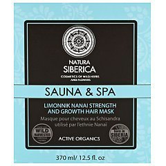 Natura Siberica Sauna & Spa Limonnik Nanai Strength And Growth Hair Mask 1/1