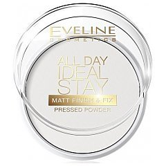 Eveline All Day Ideal Stay Matt Finish&Fix Pressed Powder 1/1