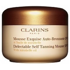 Clarins Delectable Self Tanning Mousse with Mirabelle Oil 1/1