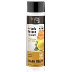 Organic Shop Lemon Honey Bath Foam 1/1