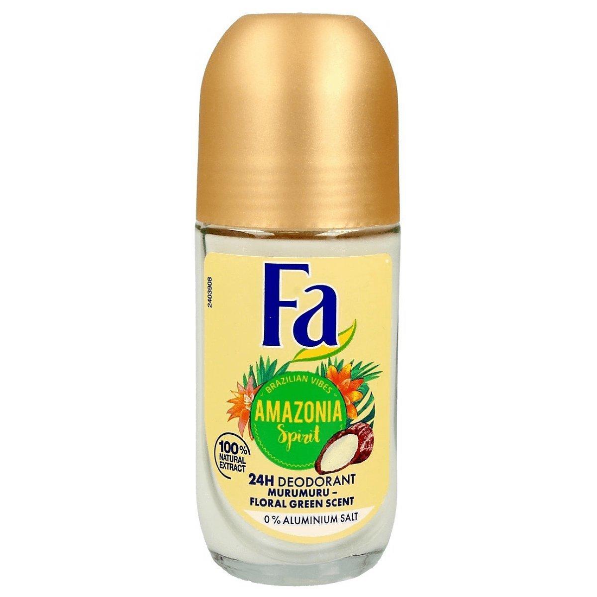 Fa Brazilian Vibes Amazonia Spirit Deodorant Roll-On Dezodorant