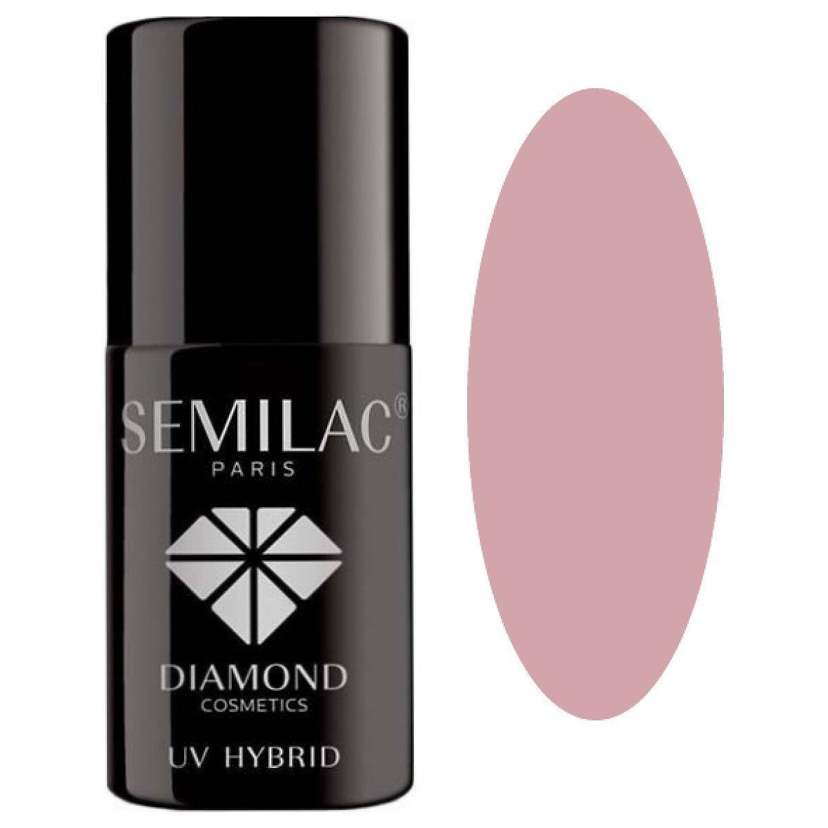 057 UV Hybrid Semilac Nude Beige Rose 7ml