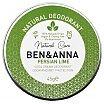 Ben&Anna Natural Deodorant Persian Lime Naturalny dezodorant w kremie w aluminiowej puszce 45g