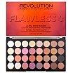 Makeup Revolution Ultra Eyeshadows Palette Paleta cieni do powiek 16g Flawless 4