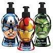 Corsair Avengers Kapitan Ameryka & Iron Man & Hulk Zestaw pielęgnacyjny żel do rąk 300ml + szampon 300ml + żel pod prysznic 300ml